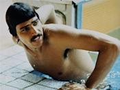 American swimmer Mark Spitz was the original golden boy of the Games after being the first athlete to be decorated with the most wins at a single Olympics. Spitz's achievement went unrivaled for 36 years until Michael Phelps took home eight gold medals in 2008. (AP Photo)
