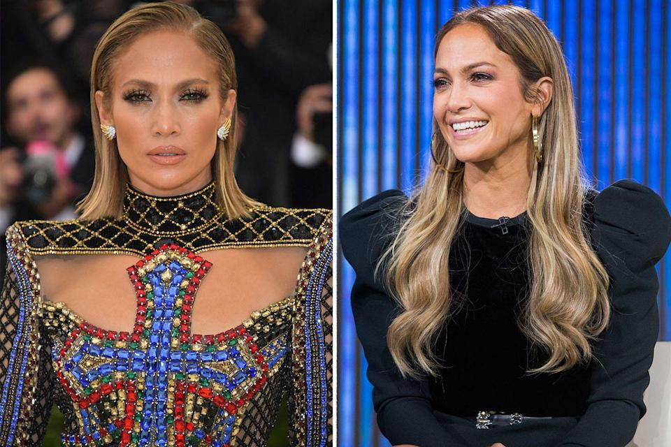 <p>J. Lo always rules the red carpet, but you never know what you're going to get. Sometimes she goes for bold look and other times she opts for a more natural glow. The mother of two knows exactly when the situation calls for a more toned down aesthetic. </p>