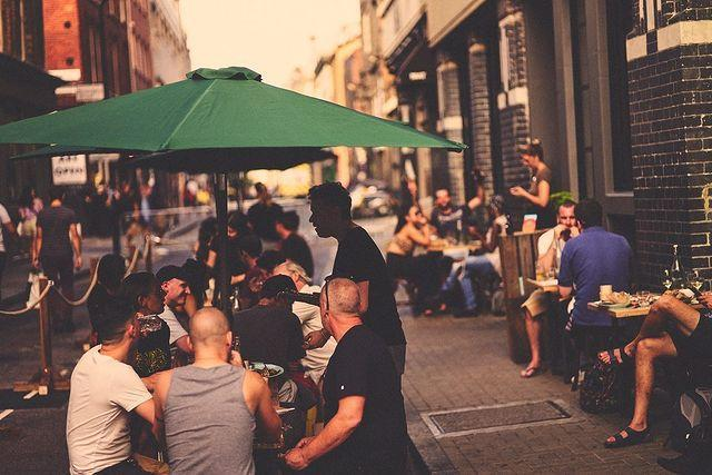 Fire-cooking destination, Smoking Goat, has expanded a covered terrace outside its busy Redchurch Street location to 60 seatsSmoking Goat