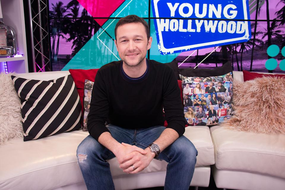 Joseph Gordon-Levitt visits the Young Hollywood Studio on March 21, 2019. (Photo by Mary Clavering/Young Hollywood/Getty Images)