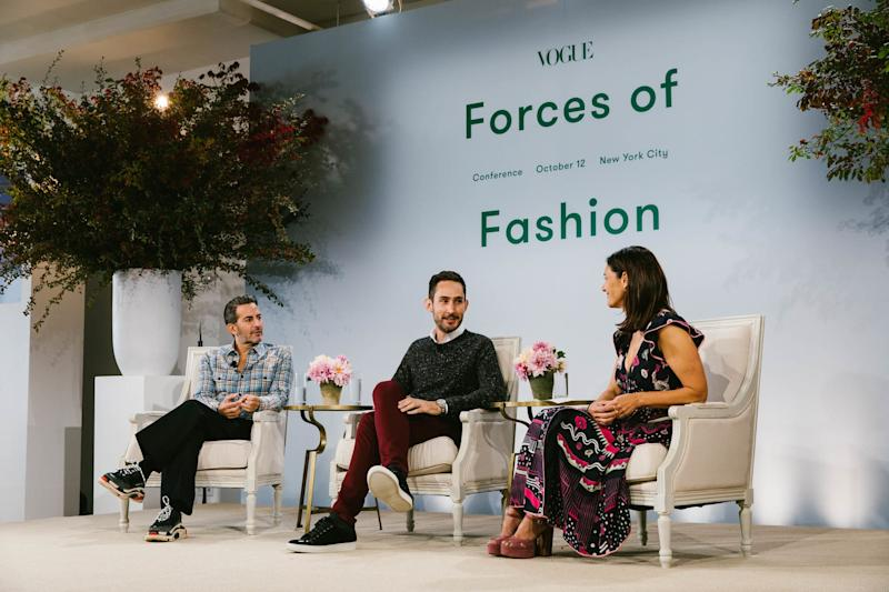 Marc Jacobs, Kevin Systrom, and Sally Singer