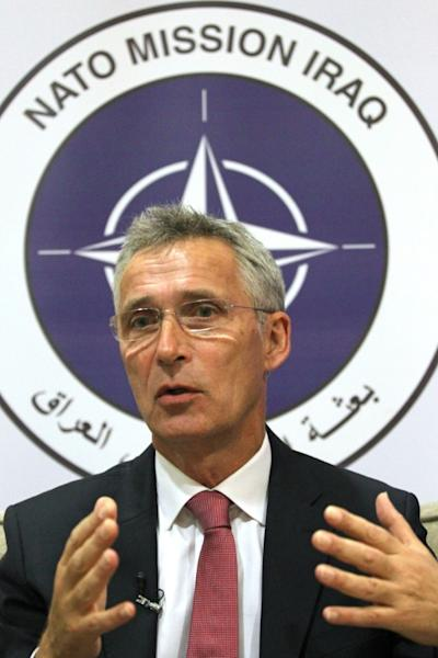 """NATO Secretary General Jens Stoltenberg said attacks could have """"negative consequences for the whole region"""" (AFP Photo/AHMAD AL-RUBAYE)"""