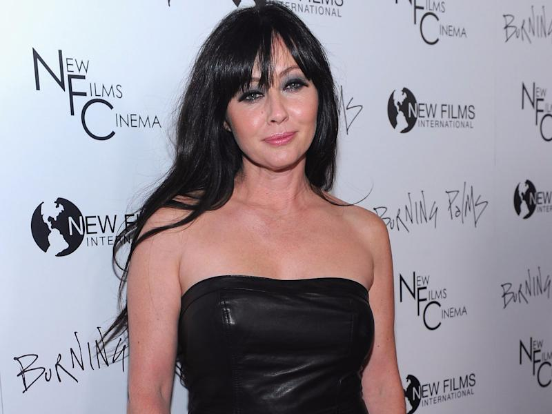 Getty Images shannen doherty breast cancer remission