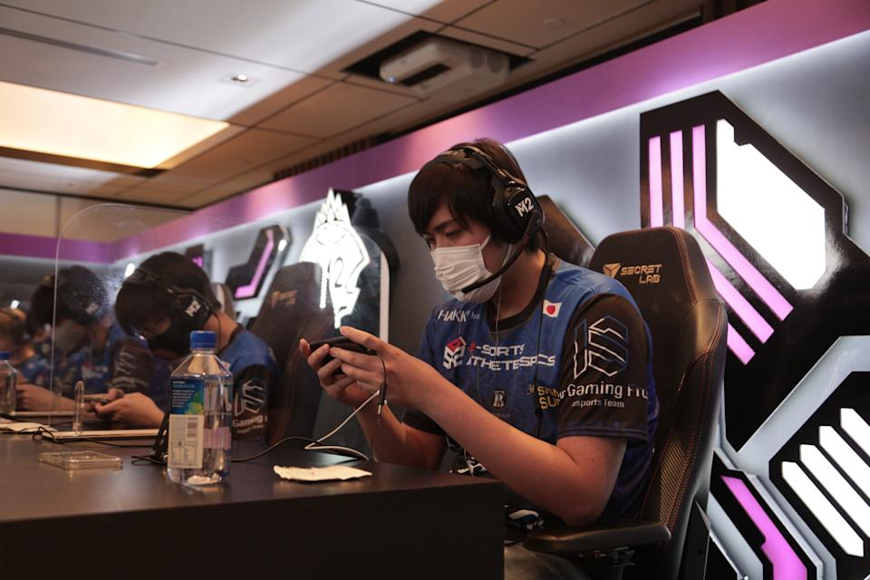 Japanese team 10S Gaming Frost at M2 World Championship in Singapore. (Photo: Moonton)