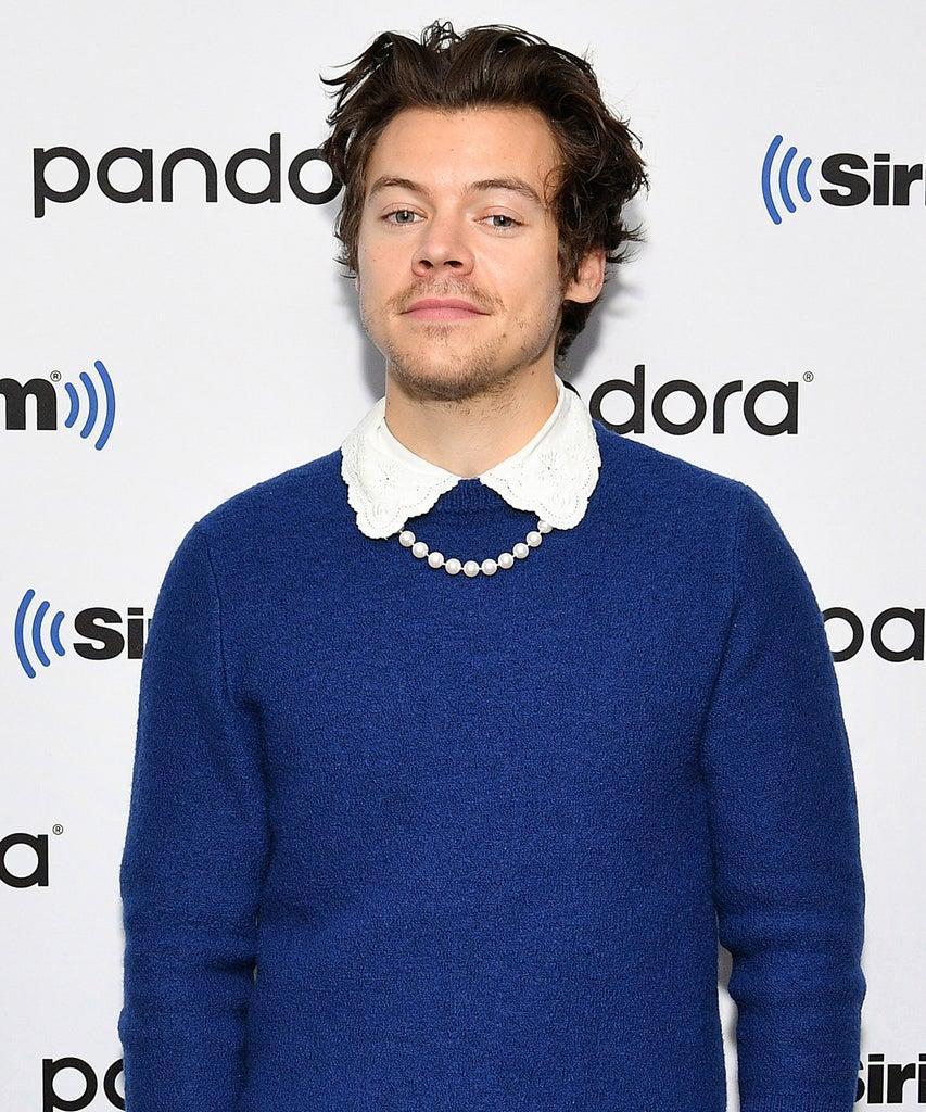 NEW YORK, NEW YORK – MARCH 02: (EXCLUSIVE COVERAGE) Harry Styles visits SiriusXM Studios on March 02, 2020 in New York City. (Photo by Dia Dipasupil/Getty Images)