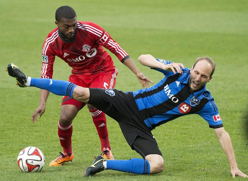 Montreal, Toronto FC tie 1-1 in first leg