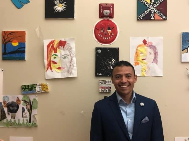 Moncef Lakous, who is originally from Morocco, is now the New Brunswick Multicultural Council president and an organizer with the Lost Votes Campaign.