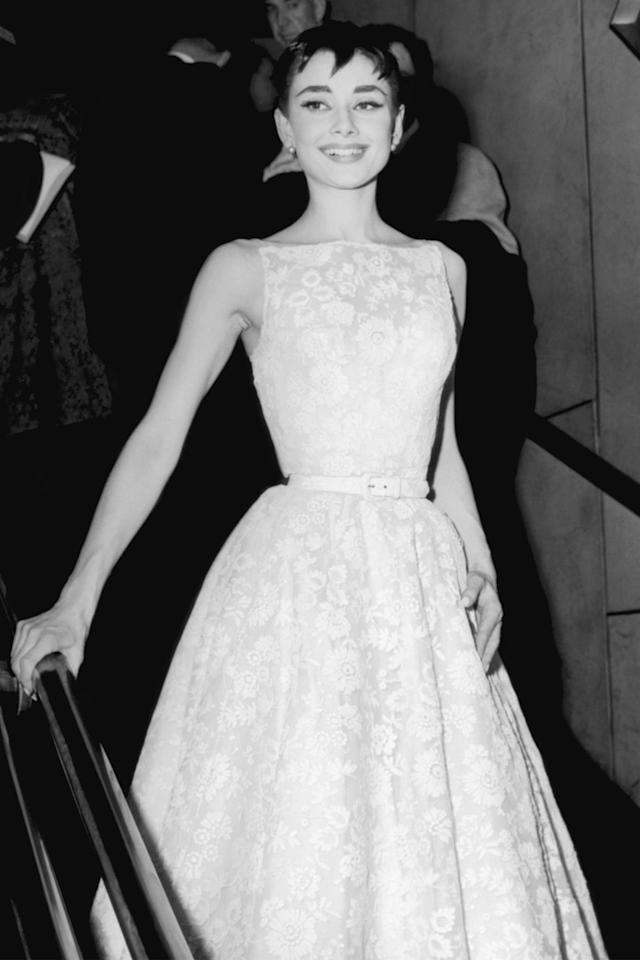 <p>An icon on and off the screen, Audrey Hepburn often worked with the house of Givenchy for her red carpet appearances. This Givenchy gown still stands the test of time. </p>