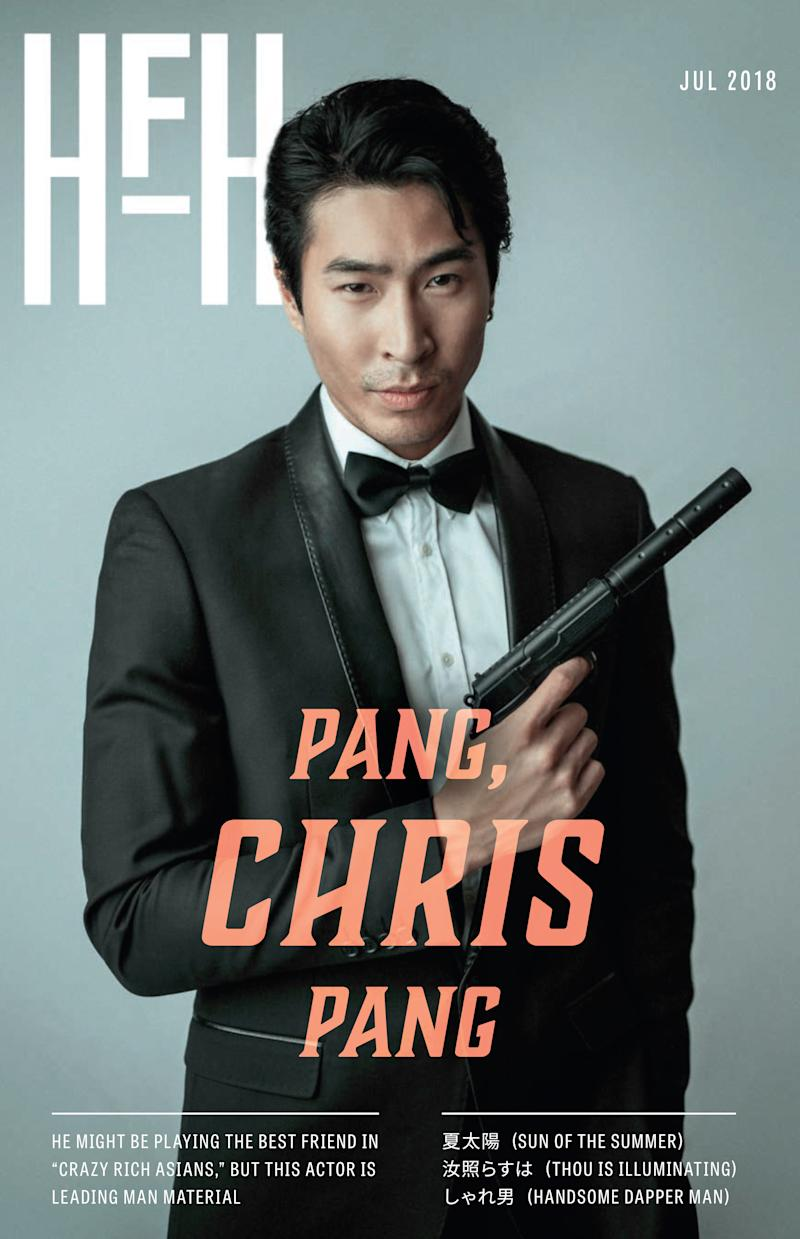 Chris Pang.  (Photo by Bobby Vu Design By Amanda Lui)