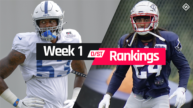 Week 1 Fantasy Defense Rankings: Sleepers, busts, waiver-wire D/ST streamers to target