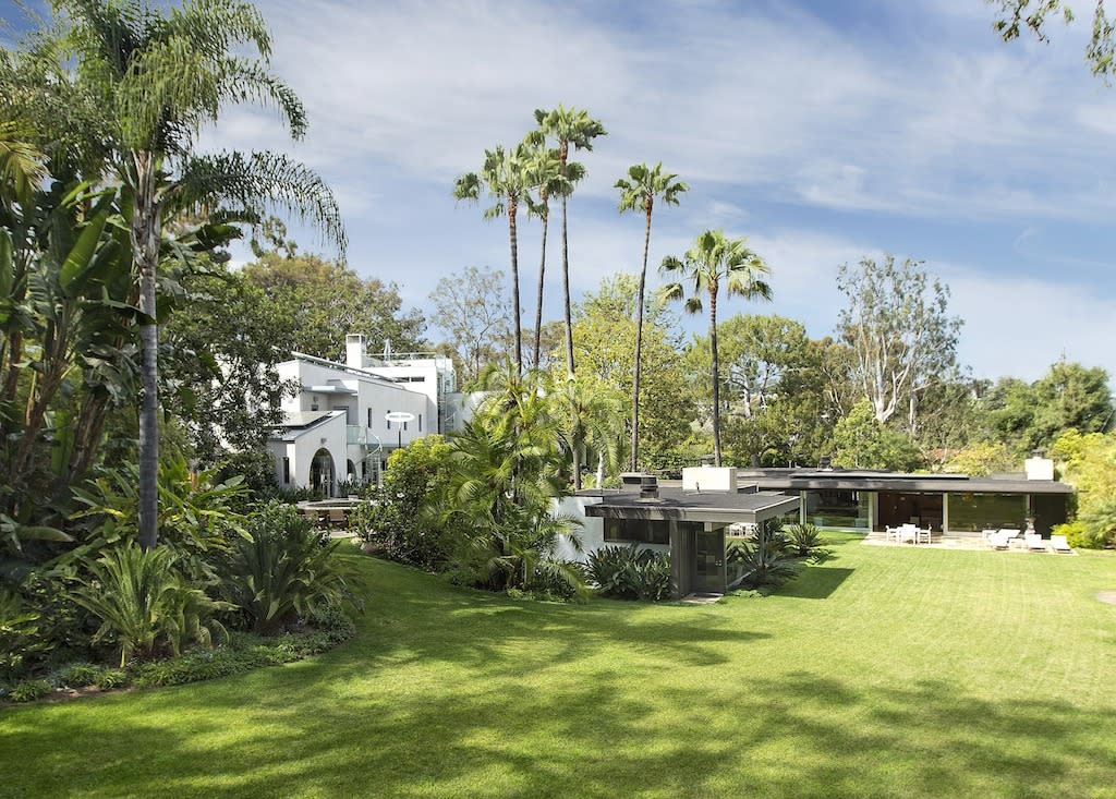 <p>The nearly 1.5 acre property in Pacific Palisades, which includes two houses – one of them the Richard Neutra 1948 Bailey House, part of the celebrated architectural Case Study program – is listed at $18 million.</p>