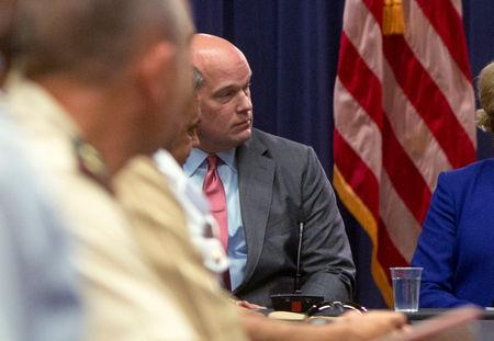 FILE PHOTO: Chief of Staff to the Attorney General Whitaker attends roundtable discussion at Justice Department in Washington