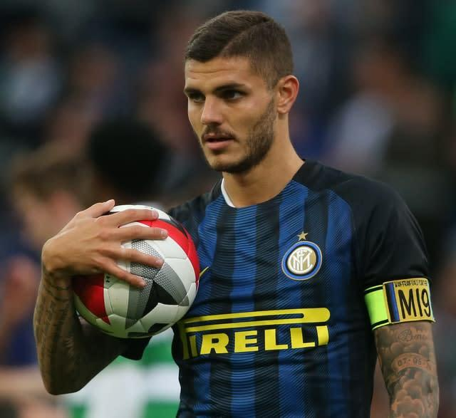Inter Milan's Mauro Icardi could be on his way to Arsenal (Niall Carson/PA)