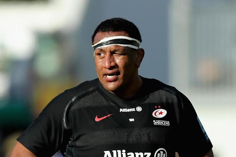 Tackling machine: Vunipola: Getty Images