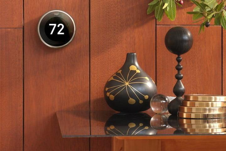 smart home Nest Learning Thermostat 3rd Generation