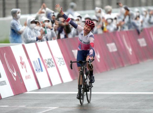 Dame Sarah Storey became Great Britain's most successful Paralympian with three golds in Tokyo