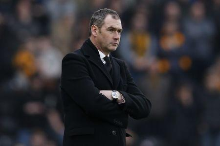 Britain Football Soccer - Hull City v Swansea City - Premier League - The Kingston Communications Stadium - 11/3/17 Swansea City manager Paul Clement Action Images via Reuters / Ed Sykes Livepic