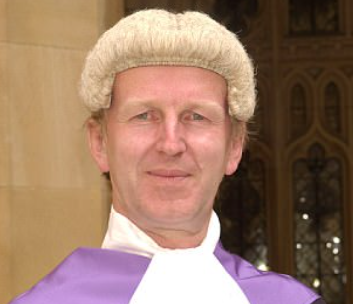 <em>Judge Nicholas Madge apologised after he warded Aliou Bah a six-figure payout for being jailed for too long (nicmadge.co.uk)</em>