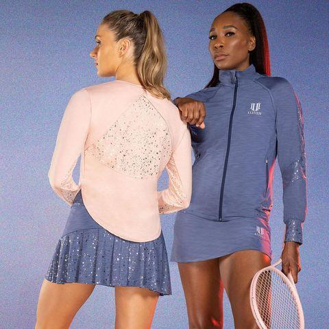"""<p>If you're in the market for athlete-approved activewear that looks as good (on and off) the court, EleVen by Venus Williams is a great place to start. </p><p><a href=""""https://www.instagram.com/p/CFAF-U3n603/"""" rel=""""nofollow noopener"""" target=""""_blank"""" data-ylk=""""slk:See the original post on Instagram"""" class=""""link rapid-noclick-resp"""">See the original post on Instagram</a></p>"""