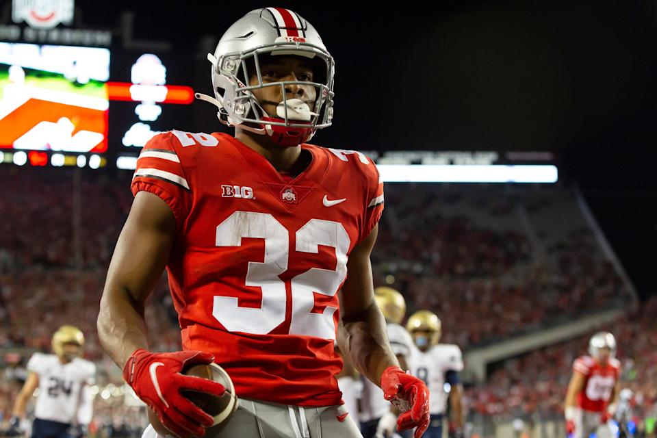 Ohio State running back TreVeyon Henderson added to Maxwell watch list