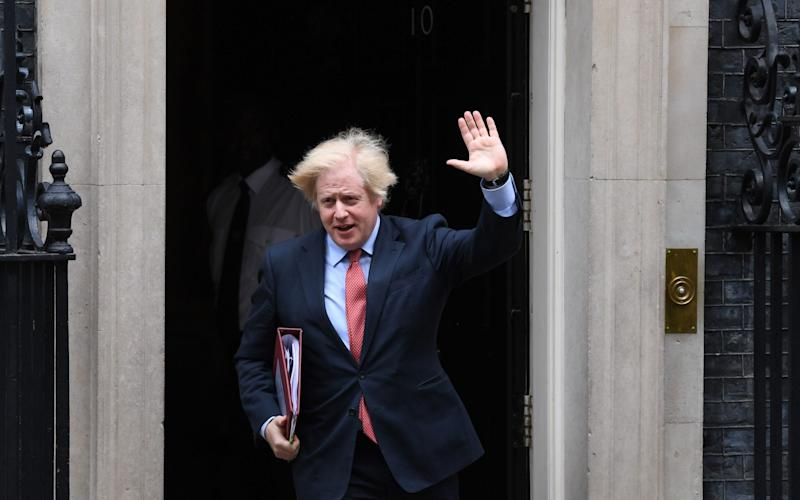 Boris Johnson will hold a video conference with European officials - shutterstock