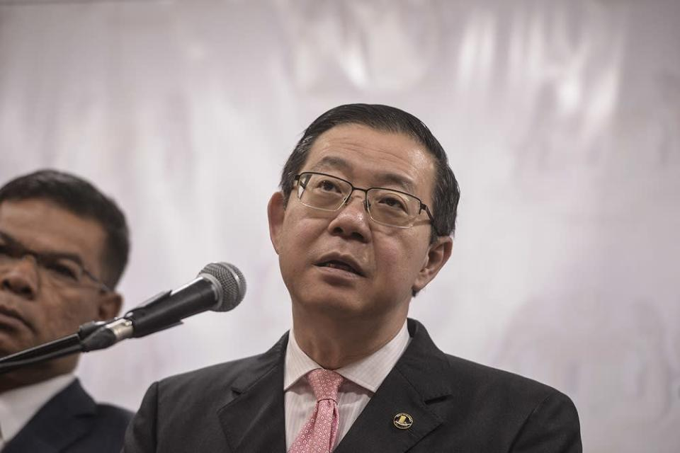 DAP secretary-general Lim Guan Eng has backed those calling the federal government to consider extending the moratorium on loan repayments slated to end in September by at least another six months. — Picture by Shafwan Zaidon