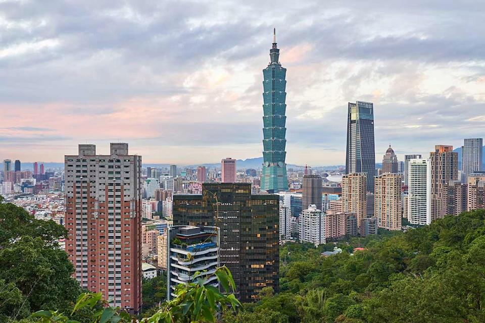 A shot of Taipei City in Taiwan, the best place to live for expats according to a new survey