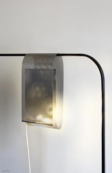 """The """"Coat"""" lamp by Gilles Neveu"""