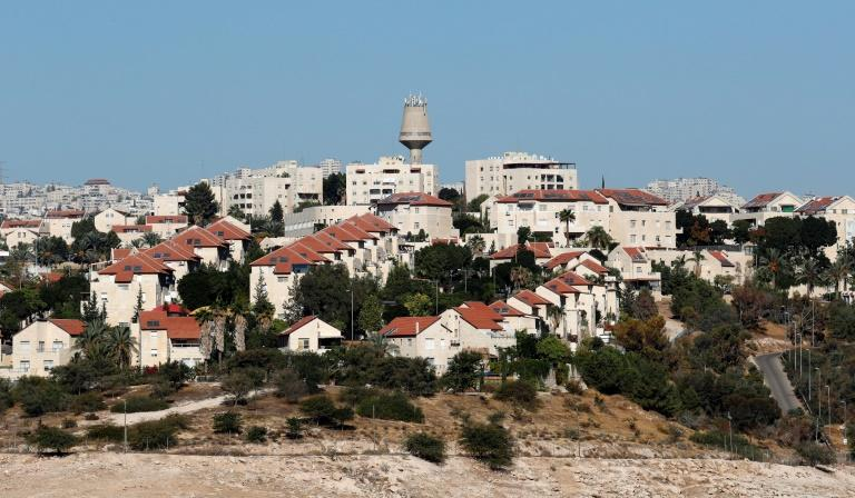 The Israeli settlement of Maale Adumim in the occupied West Bank on October 26, 2017