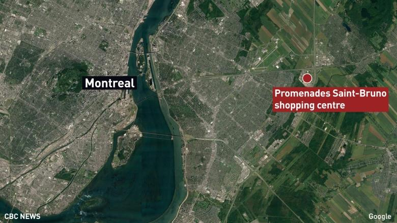 2 small planes collide over mall near Montreal, 1 dead