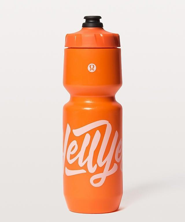 <p>Even if you don't like cycling, you'll likely fall in love with this <span>bright-colored water bottle from Lululemon</span> ($18).</p>