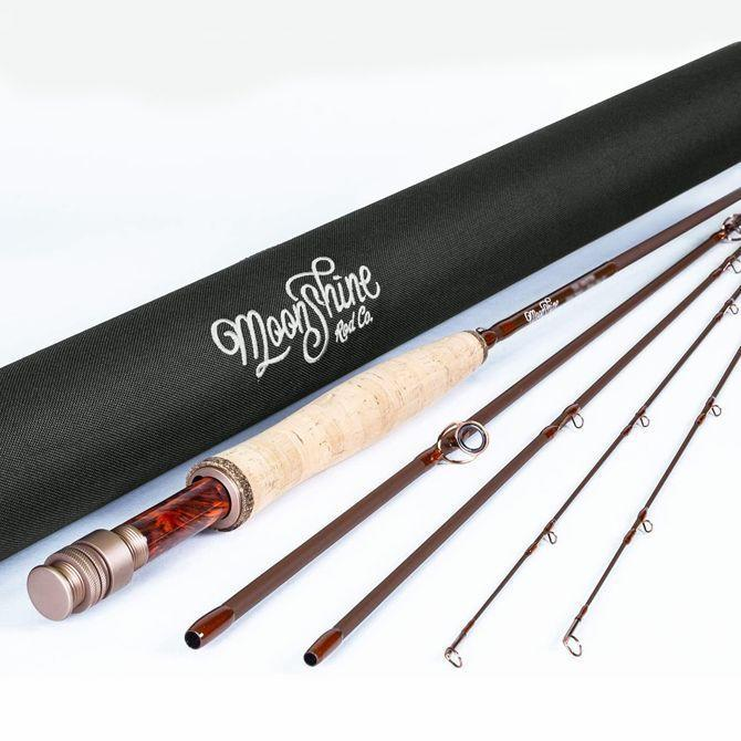 """<p><strong>Moonshine Rod Company</strong></p><p>amazon.com</p><p><strong>199.00</strong></p><p><a href=""""https://www.amazon.com/dp/B07DX6Y8CN?tag=syn-yahoo-20&ascsubtag=%5Bartid%7C10060.g.36123677%5Bsrc%7Cyahoo-us"""" rel=""""nofollow noopener"""" target=""""_blank"""" data-ylk=""""slk:Buy Now"""" class=""""link rapid-noclick-resp"""">Buy Now</a></p><p>Over the past few years, Tennessee-based Moonshine Rod Co. has been making stans out of trout bums, and the Drifter makes plain why. Proletarian-priced and handsomely built, the rod outperforms competitor models that cost twice as much. Equally impressive, the Drifter comes with a lifetime warranty and a spare tip, a rarity not only for a sub-$200 fly rod but for <em>any</em> fly rod. It's available in ten different weight-and-length combos, from a 7.5-foot three-weight to an 11-foot seven-weight trout Spey. I've been fishing with the three-weight recently, and I suspect I'll start seeing more of them on the river as the Drifter earns more converts.</p>"""