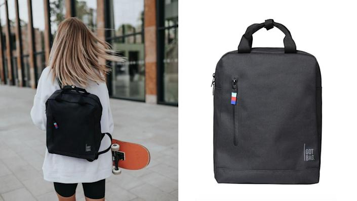 This bag is good for the earth.