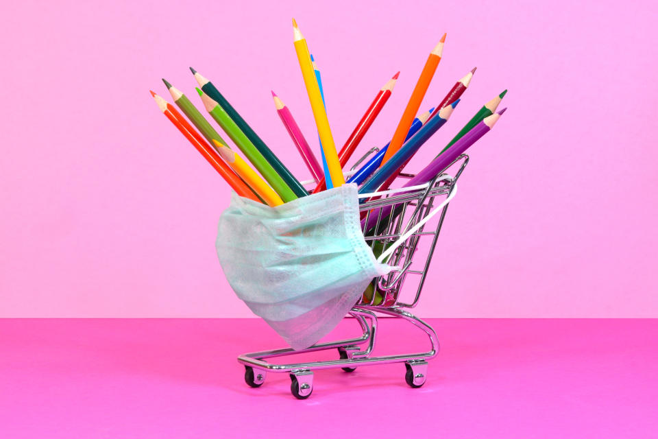 Back-to-school shopping is a thrilling rite of passage. Walmart's delivery service allowed my kid to do it safely. (Photo: Getty Images)