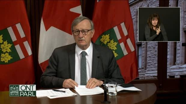 Dr. David Williams, Ontario's chief medical officer of health,saysthe province is cautiously optimistic as COVID-19 case numbers are coming back down.