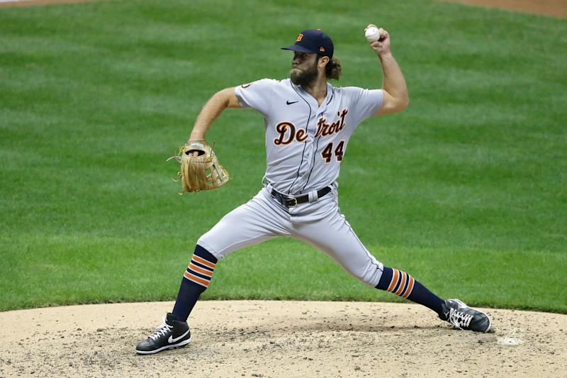 Detroit Tigers' Daniel Norris pitches during the fourth inning of a baseball game against the Milwaukee Brewers Tuesday, Sept. 1, 2020, in Milwaukee.