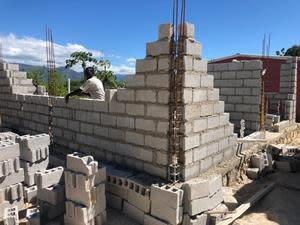 Construction began on 120 new houses in Derac, Haiti on October 28th 2020.