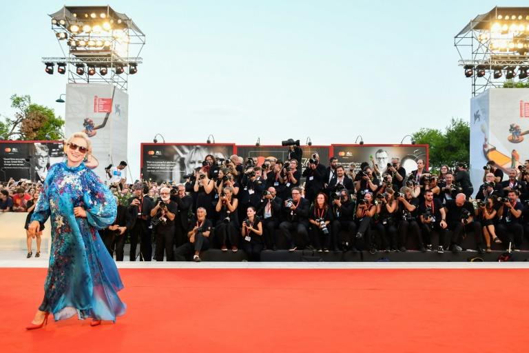 US actress Meryl Streep arrives for a screening at last year's Venice Film Festival