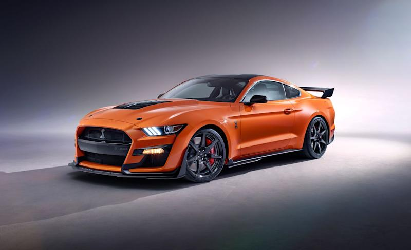 Ford introduces Grabber Lime for 2020 Ford Mustang Shelby GT500