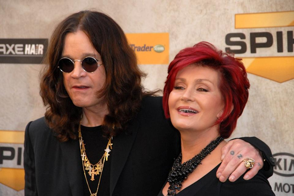 Ozzy and Sharon Osbourne, celebrity grandparents