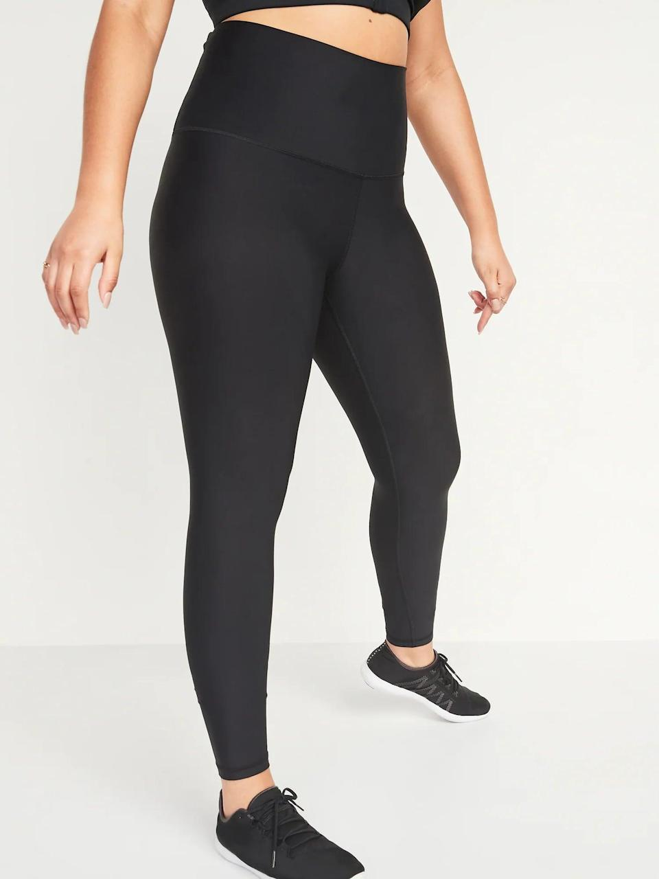 <p>You can't go wrong with a solid black version of the <span>High-Waisted Hidden-Pocket Leggings for Women</span> ($20-40, originally $40).</p>