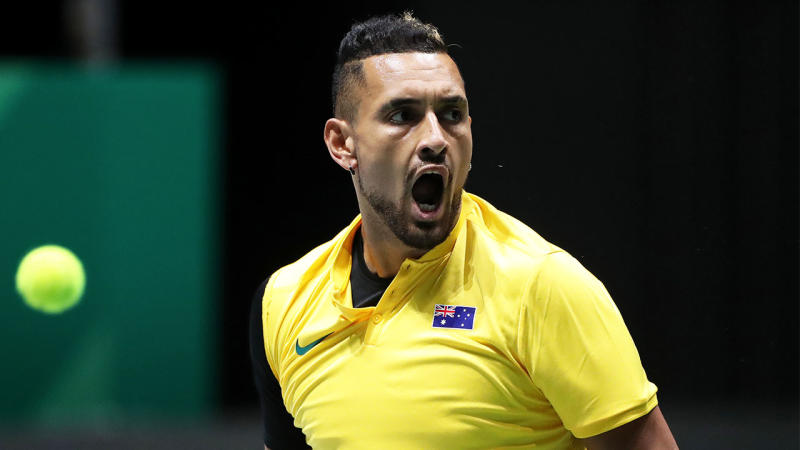 Nick Kyrgios thinks team events are the future of tennis. (Getty Images)