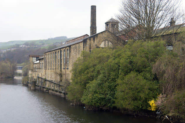 The bodies of the men were recovered from the River Calder (file picture)
