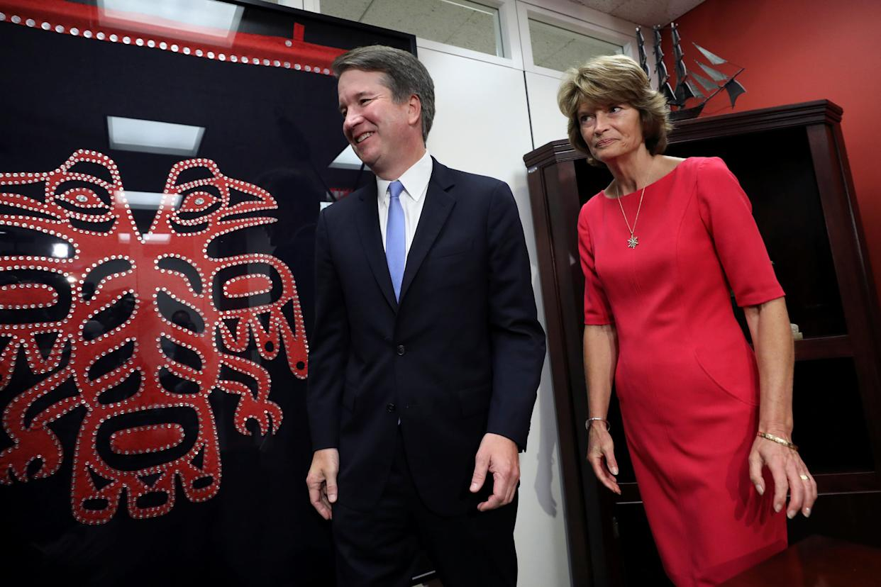Sen. Lisa Murkowski is in a pickle: vote against her party or vote against the interests of tribal communities in her state. (Photo: Chris Wattie / Reuters)