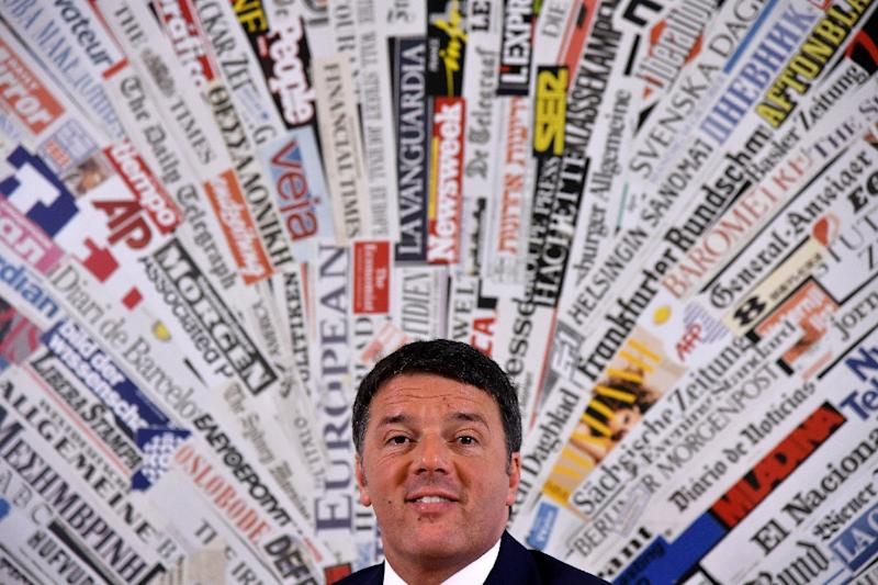 Italy's ruling centre-left party admits election defeat