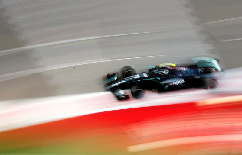 Bottas fastest in Russian Grand Prix practice