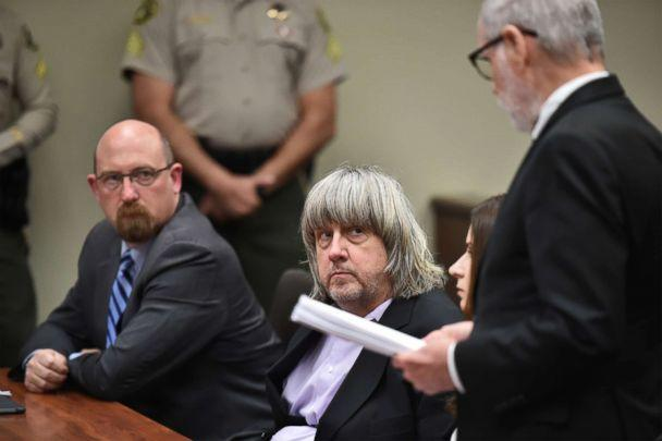 PHOTO: David Allen Turpin appears in court for arraignment with attorneys on Jan. 18, 2018, in Riverside, Calif. (Frederic J. Brown, Pool via Getty Images, FILE)