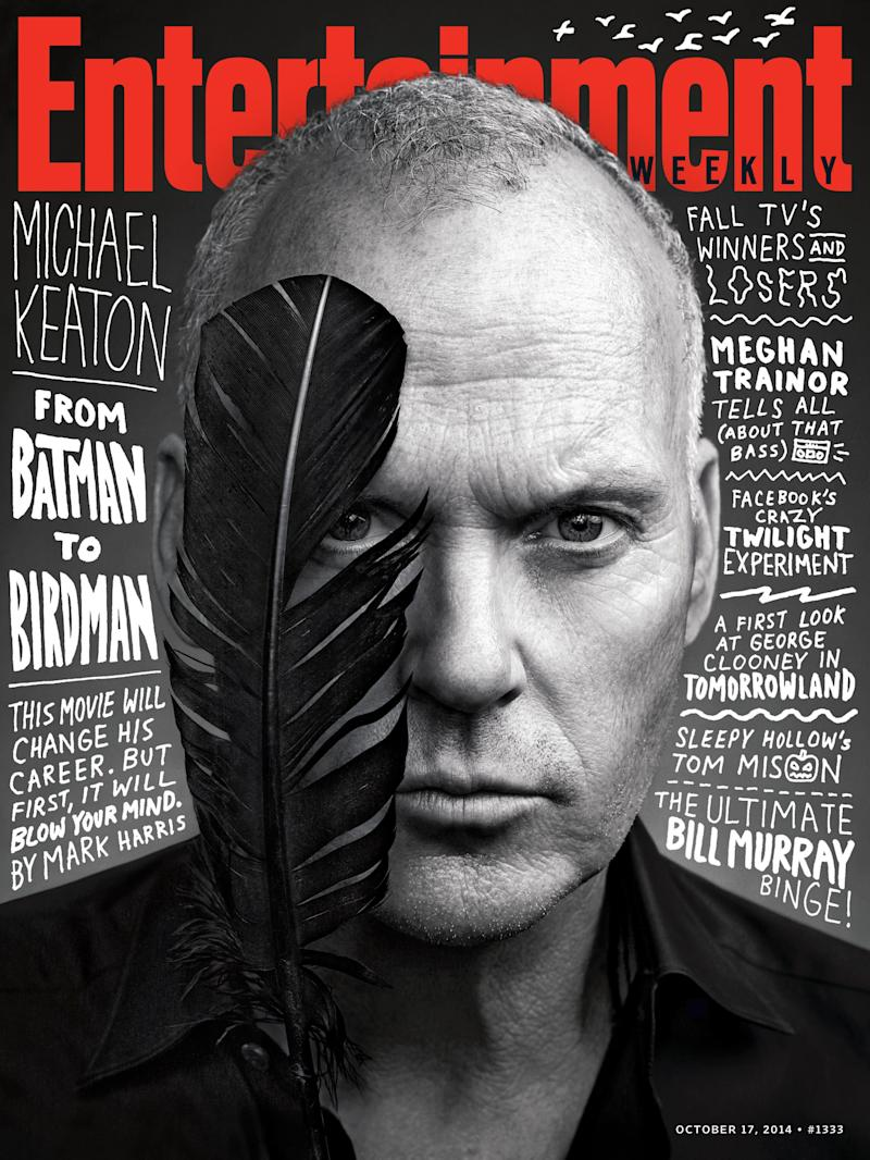 Michael Keaton on the cover of Entertainment Weekly