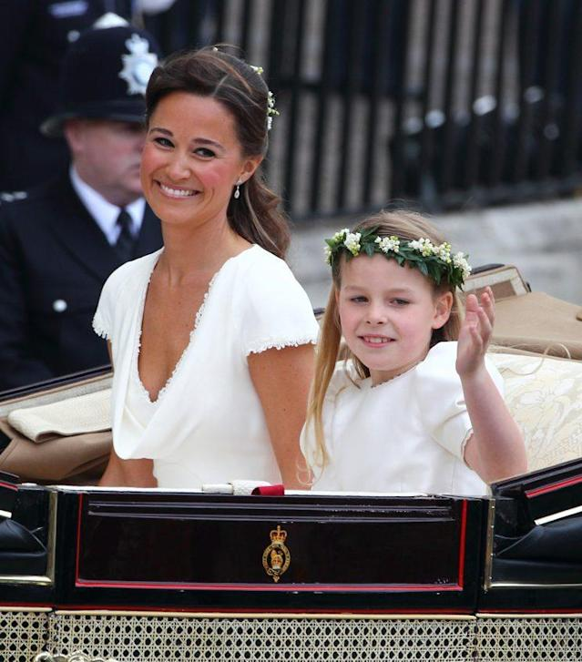 """Pippa Middleton, pictured at the royal wedding of her sister, Catherine Middleton, to Prince William in 2011, will soon say her own """"I do's."""" (Photo: Getty Images)"""