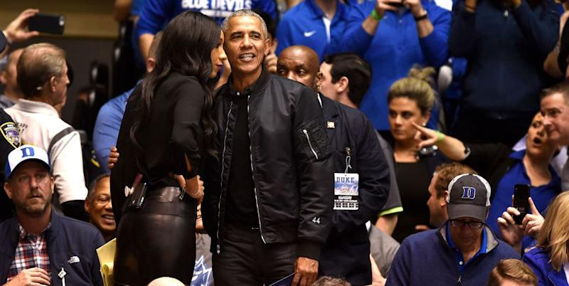 fc65e7c9a2f I m Very Attracted to Obama in This Custom Black Bomber Jacket